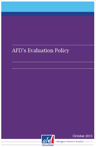 AFD's evaluation policy cover