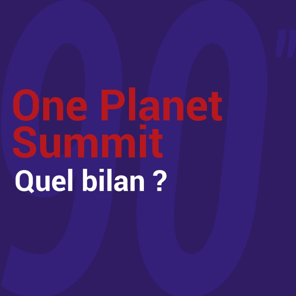One Planet Summit : Quel bilan ? image