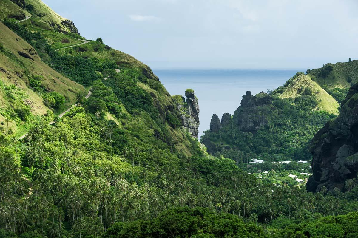 Fatu Hiva, nature, paysage, Polynésie, environnement, biodiversité