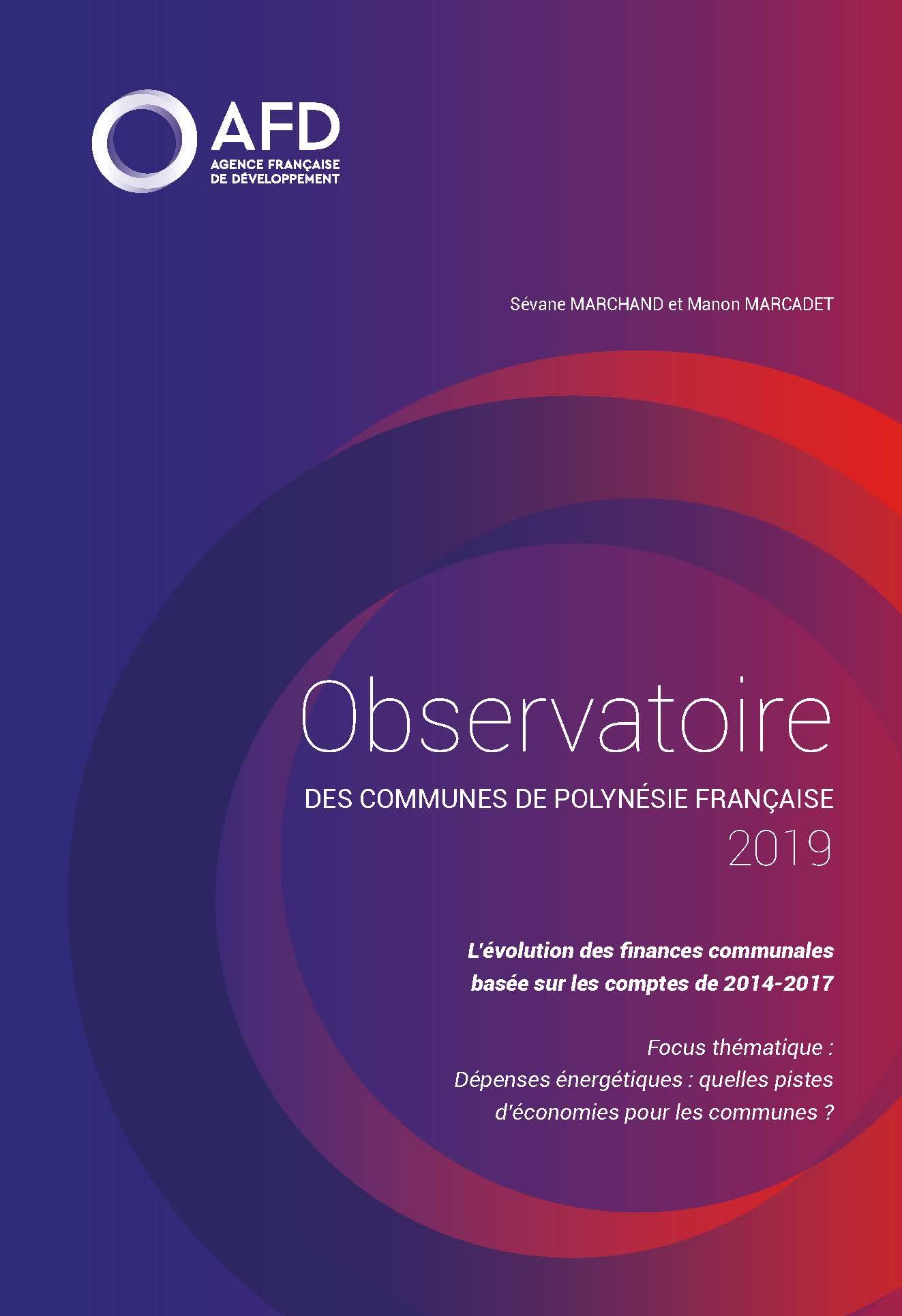 Observatoire des communes de Polynésie française 2019