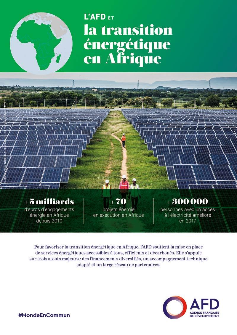 L'AFD et la transition énergétique en Afrique