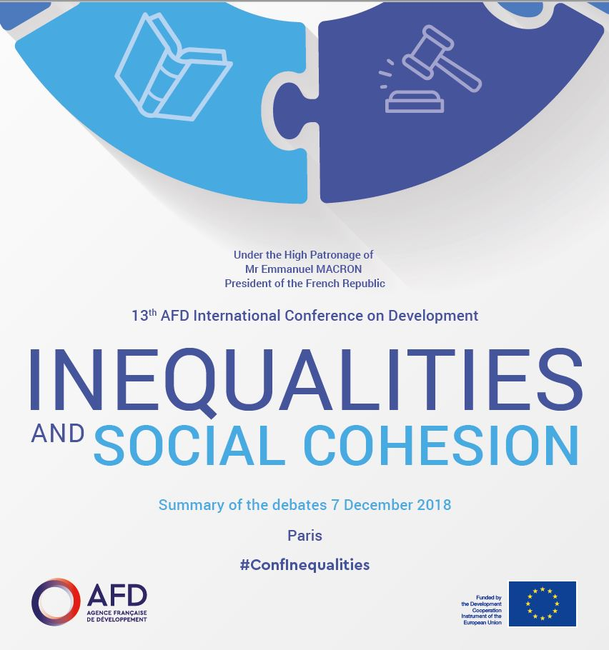 AFD International Conference on Development : Inequalities and Social Cohesion - Synthesis
