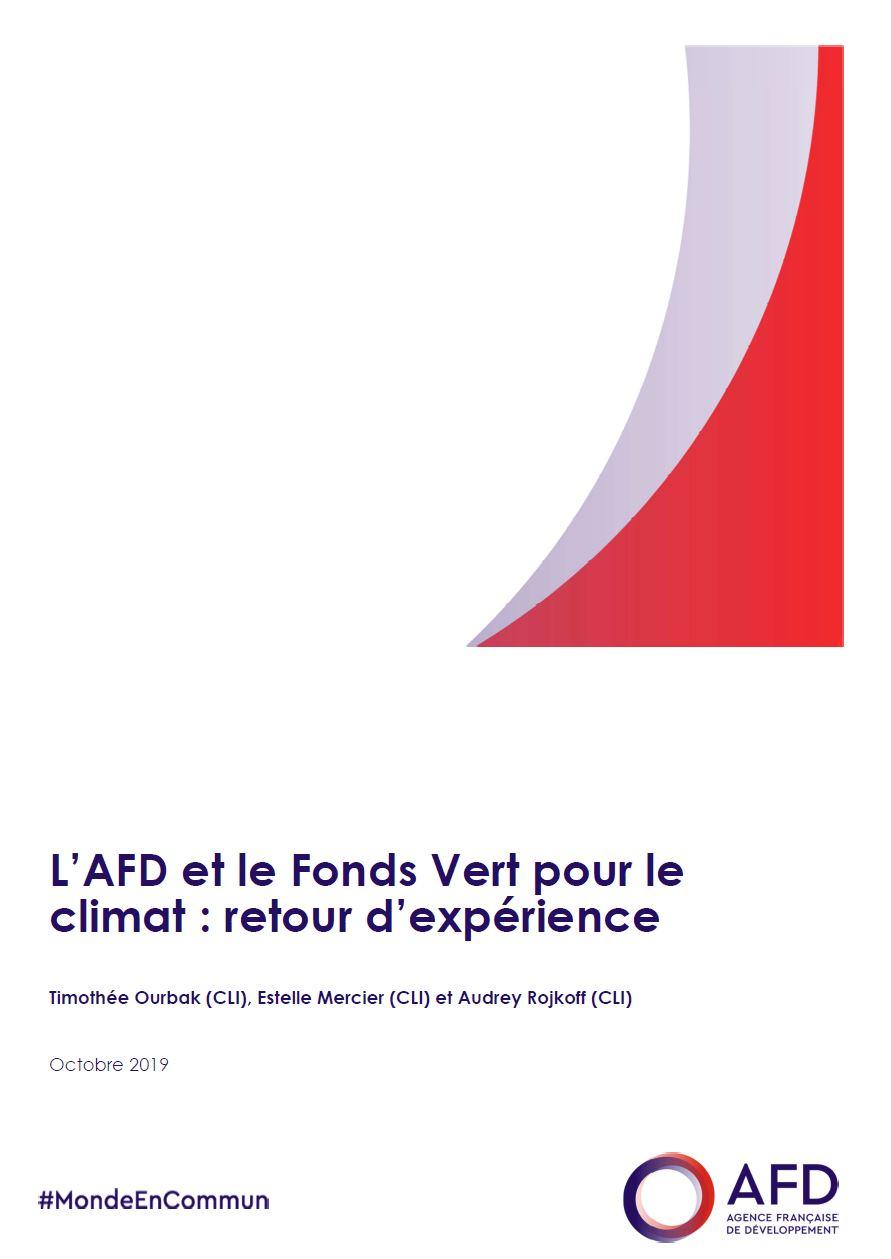 L'AFD et le Fonds Vert pour le climat : retour d'expérience