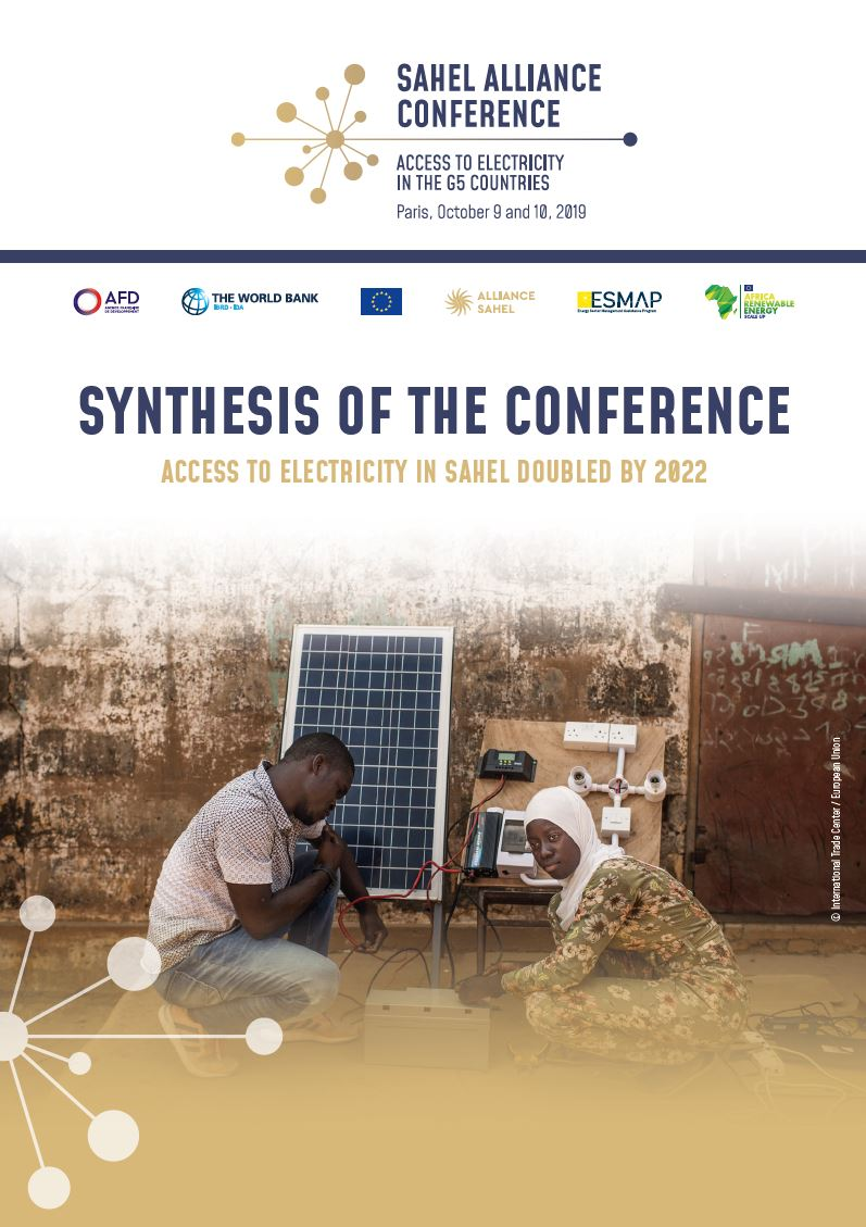 Access to electricity in Sahel doubled by 2022 - Synthesis of the conference