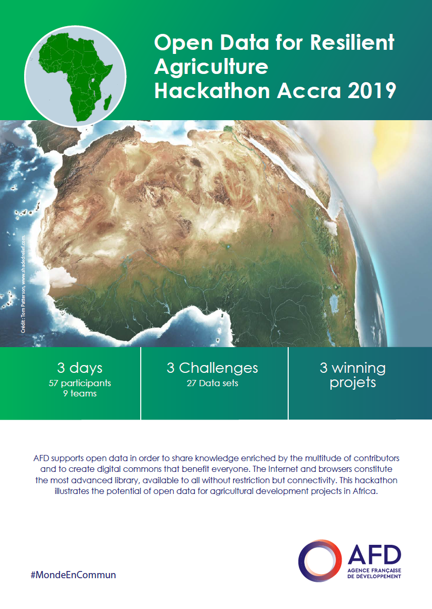 Open Data for Resilient Agriculture - Hackathon Accra 2019