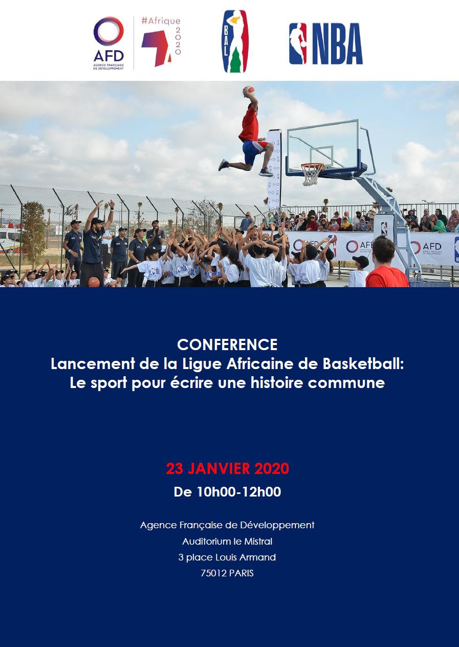 Lancement de la Ligue africaine de basketball : le sport pour écrire une histoire commune