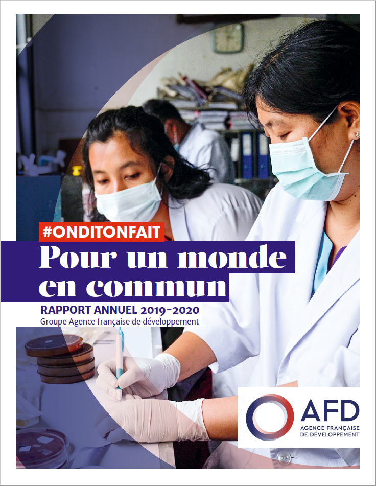 Rapport annuel  2019-2020 groupe AFD