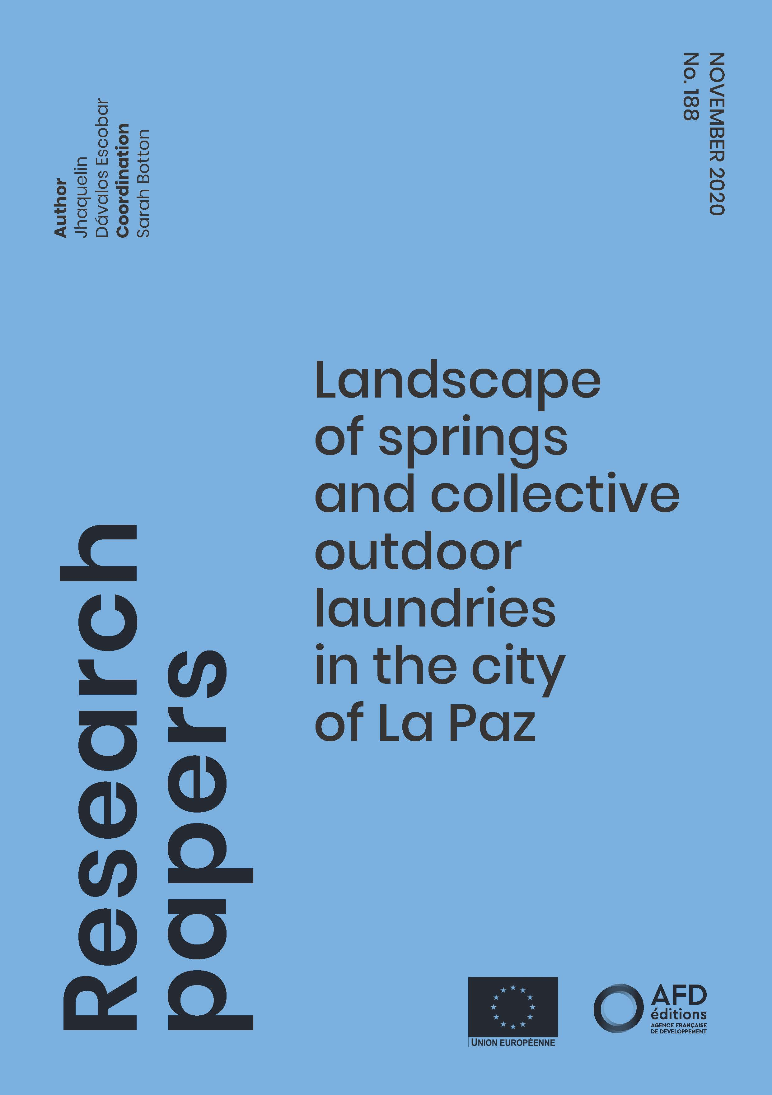 Springs and laundries La Paz_couv