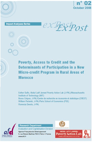 Poverty, Access to Credit and the Determinants of