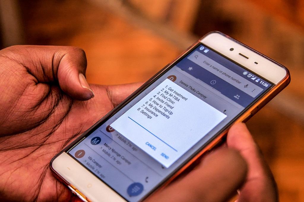Kenya Carepay AFD assurance santé téléphone