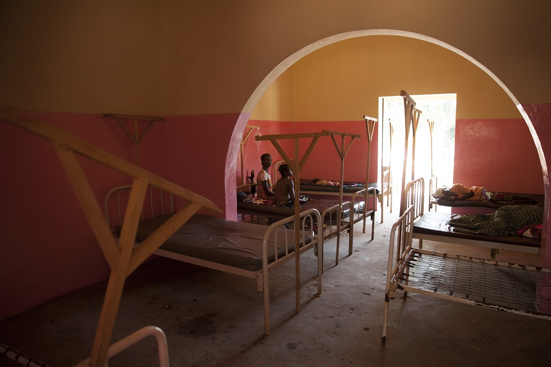Hospital in Bambari Central African Republic