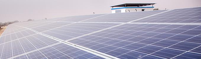 Centrale solaire de Kiffa, Mauritanie