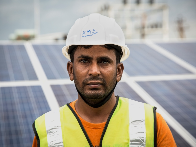centrale solaire Inde