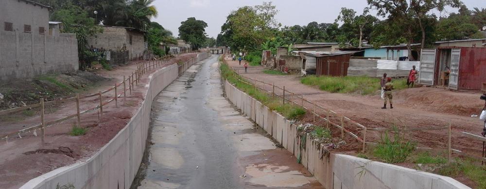Congo, Brazzaville, drainage