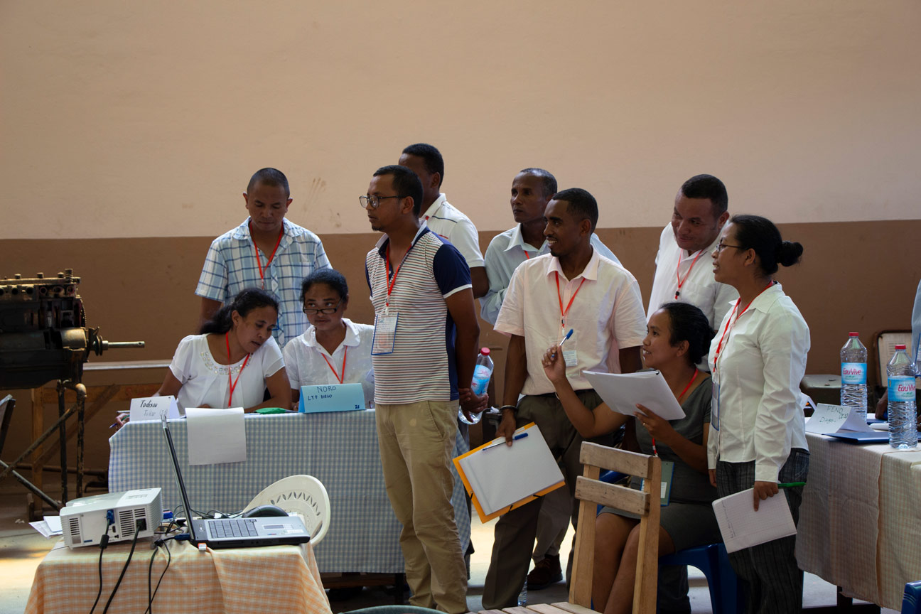 Teachers training in Tamatave © Camille Paquet / AFD