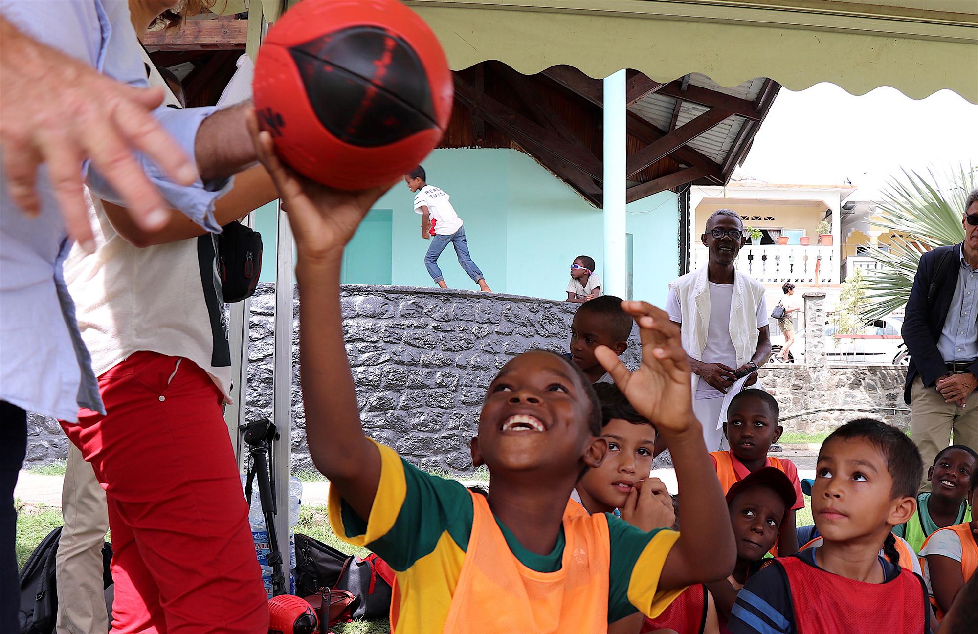 Mayotte, Play international, Arnaud Assoumani