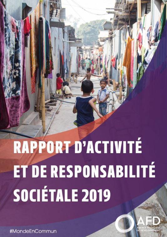 Rapport d'activité et de responsabilité sociétale 2019