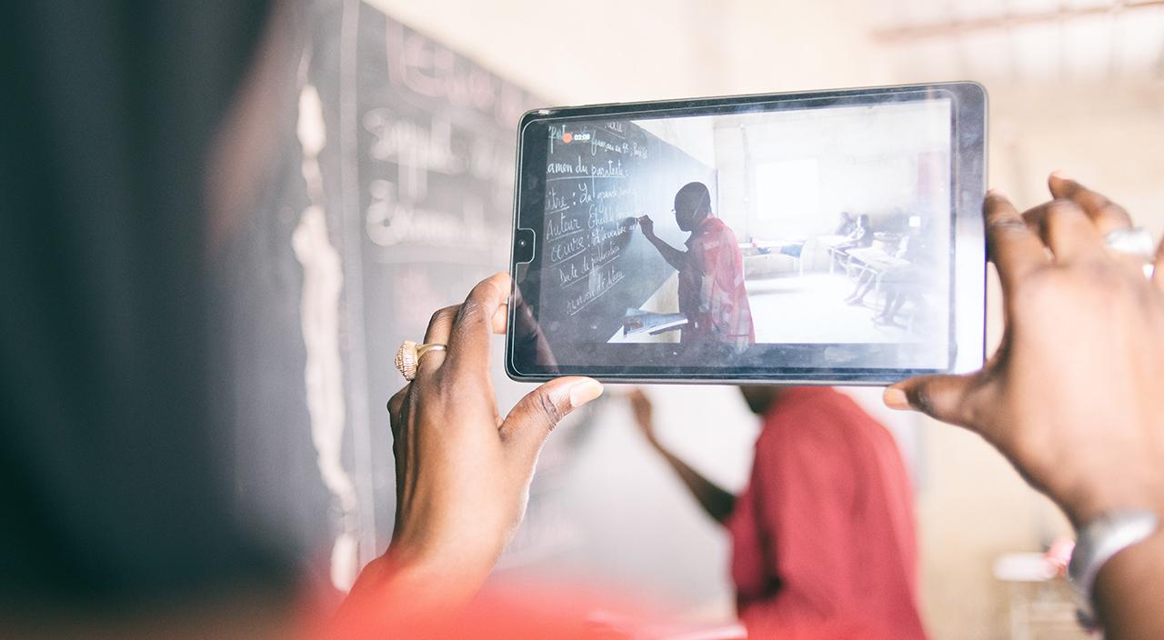 Sénégal, Dakar, éducation, tablette, Andrianjafy