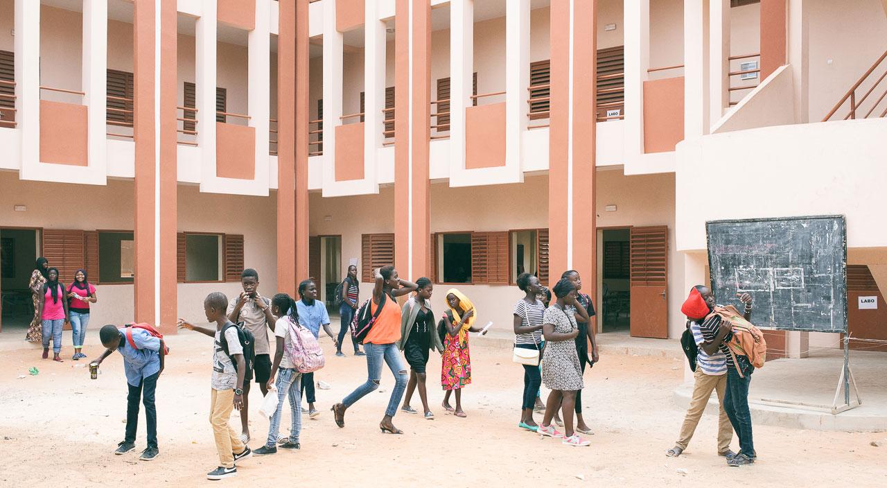 Sénégal, Dakar, éducation, Andrianjafy
