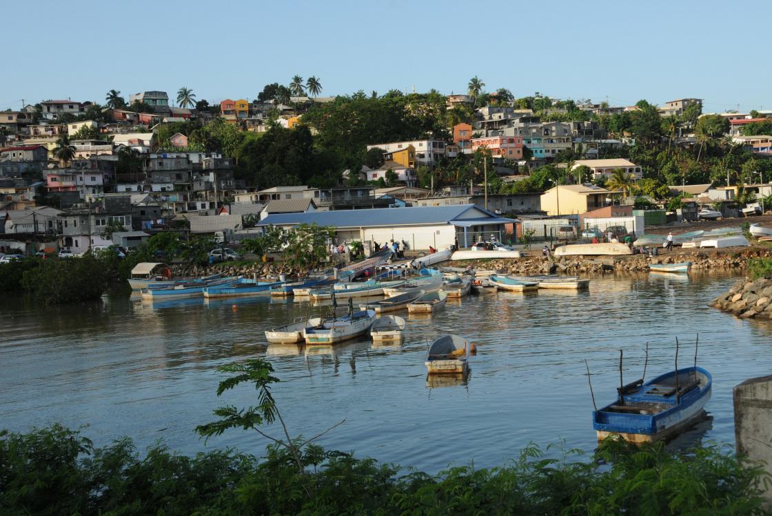 Halle aux pêcheurs de M'Tsapéré, Mayotte
