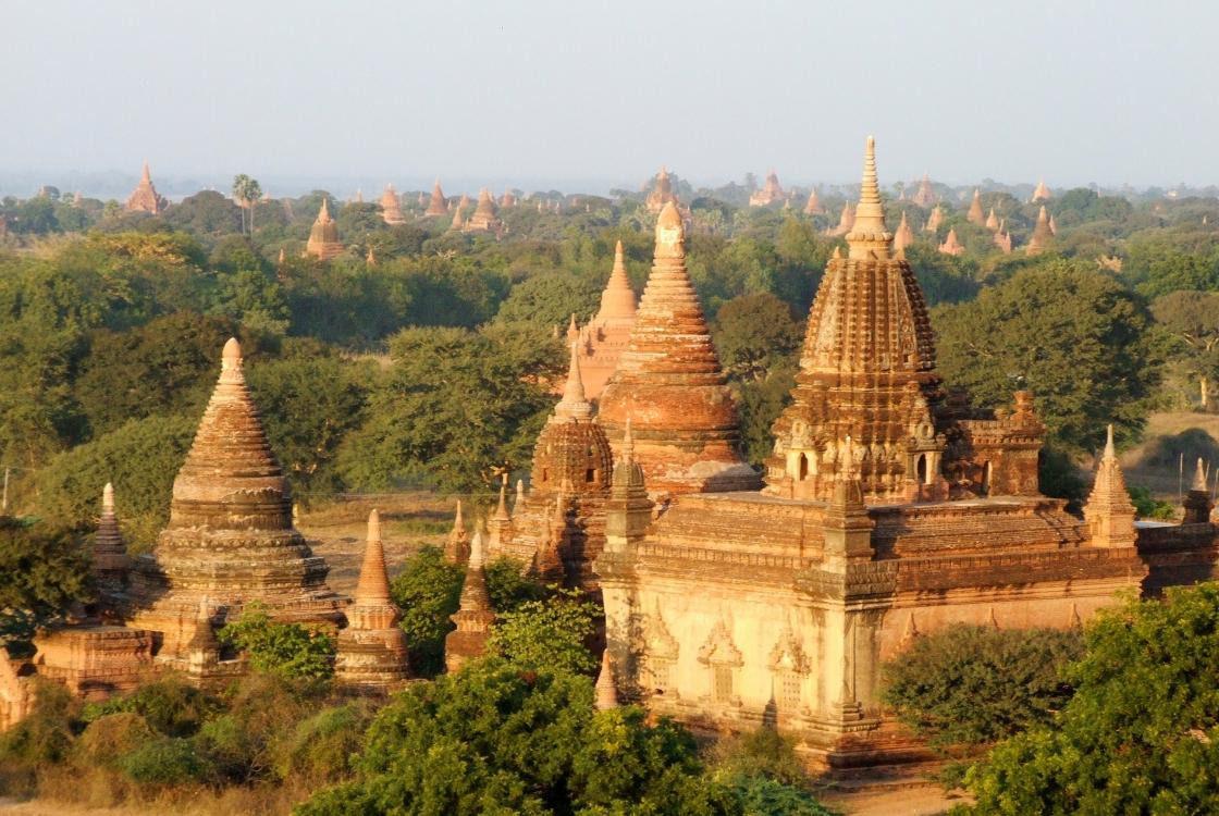 Temple, Birmanie