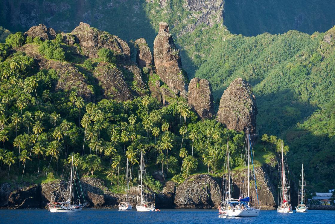 Baie des Vierges, Fatu Hiva, Polynésie française
