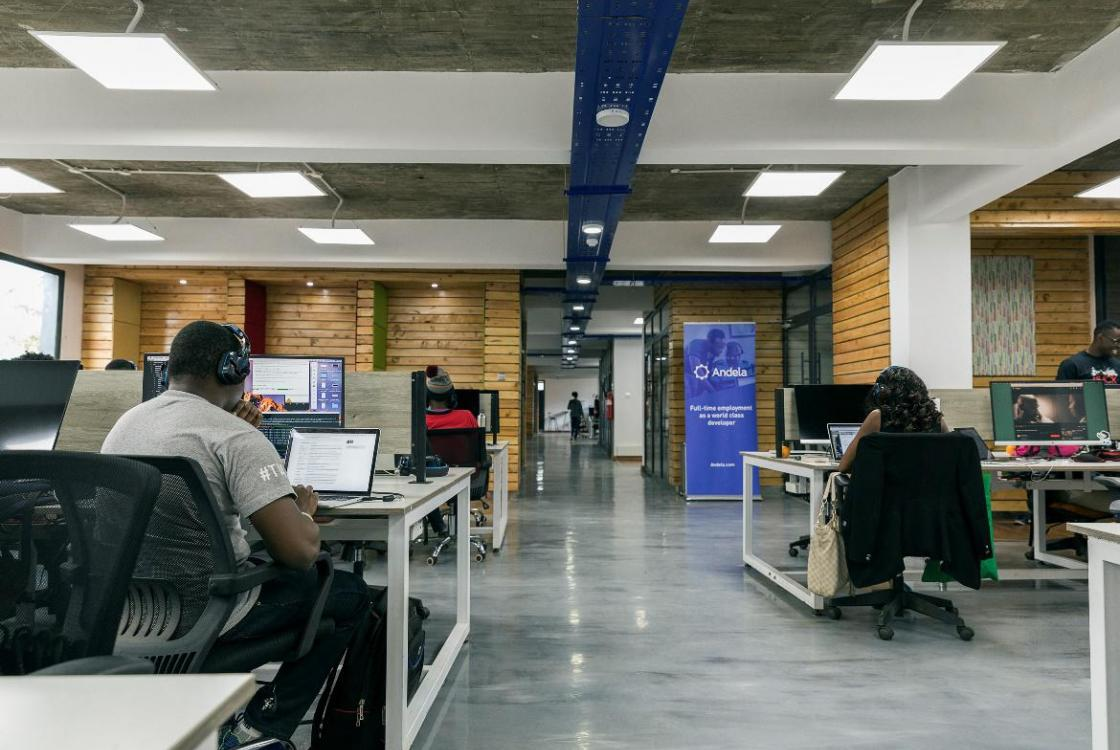 Andela, company, students, code, computing, Africa