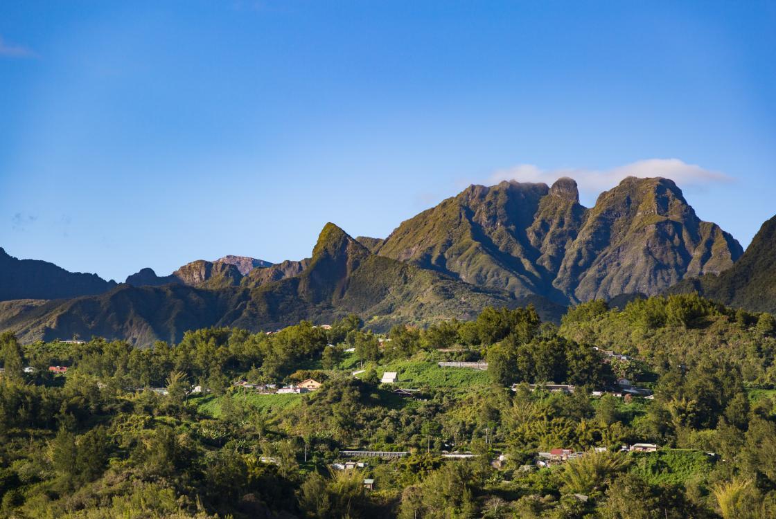 Montagne, Salazie, La Réunion, territoire