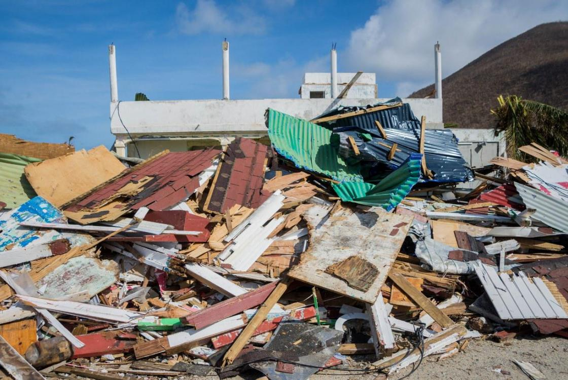 Saint-Martin, Irma hurricane, property damage