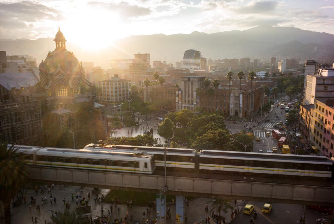 nos secteurs d'intervention, Medellin, Colombie