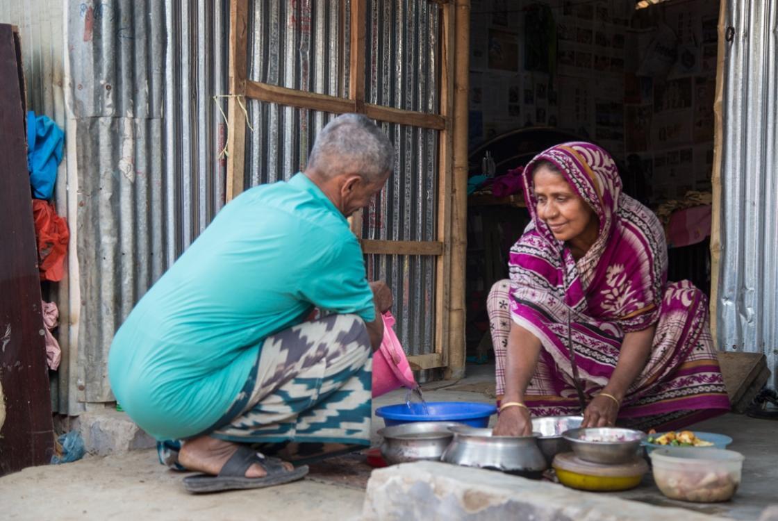 Bangladesh, approvisionnement en eau, sans abri, eau propre et saine, pauvre, agence française de développement