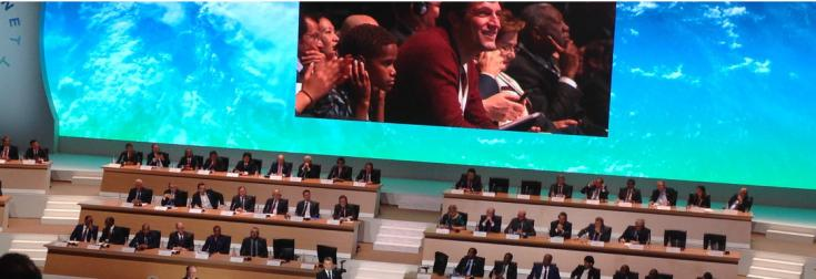 One Planet Summit, assemblée, Paris