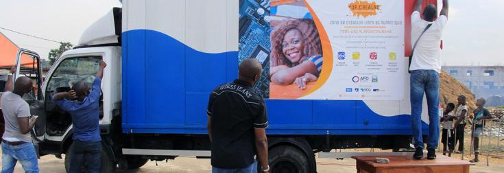 Côte d'Ivoire, Crea Mobile, Kouao