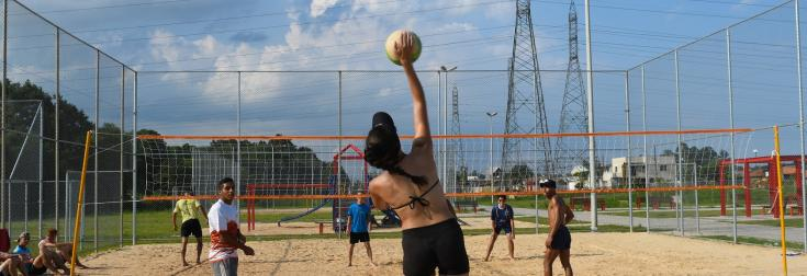 beach volley AFD sport développement plage