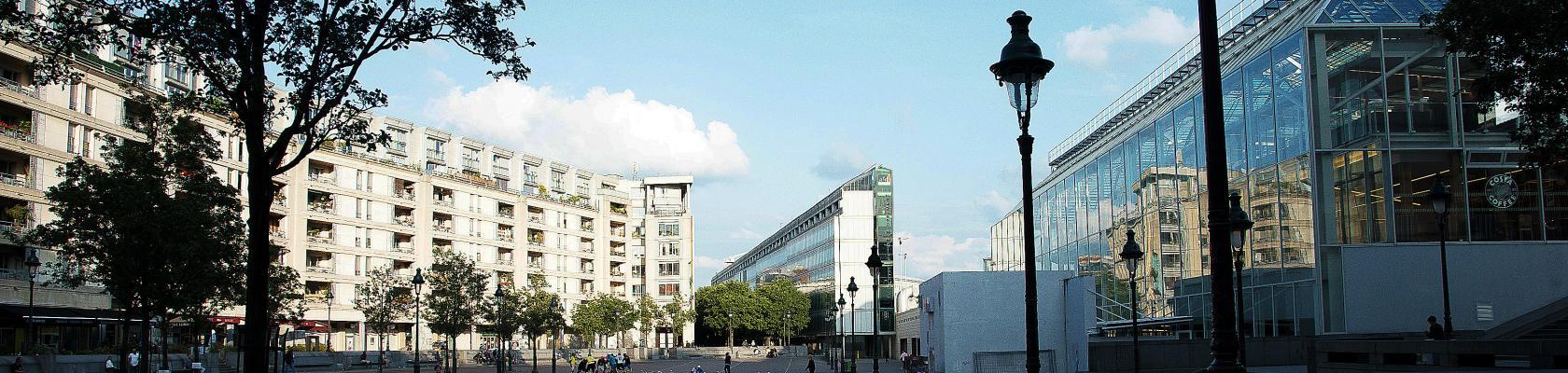 Vue du siège social de l'AFD à Paris