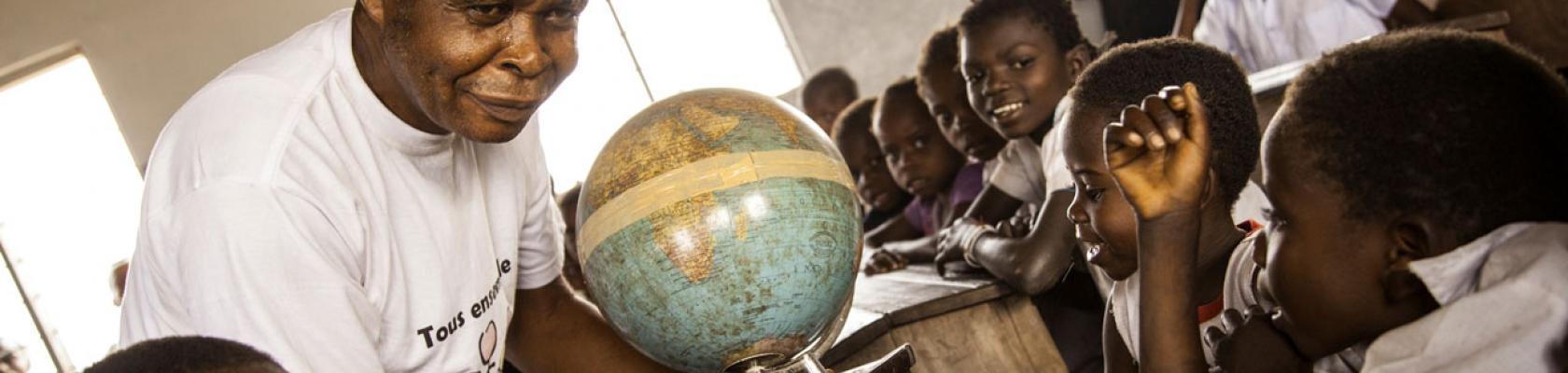 Une planète dans la classe en RDC
