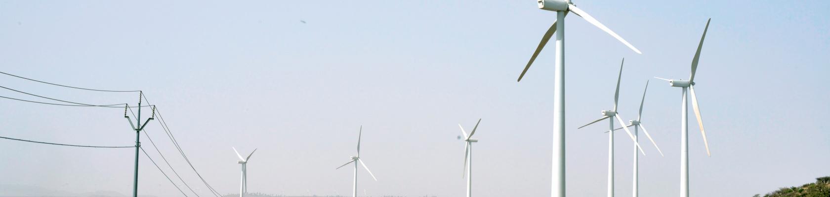 Ashegoda windfarm, Ethiopia