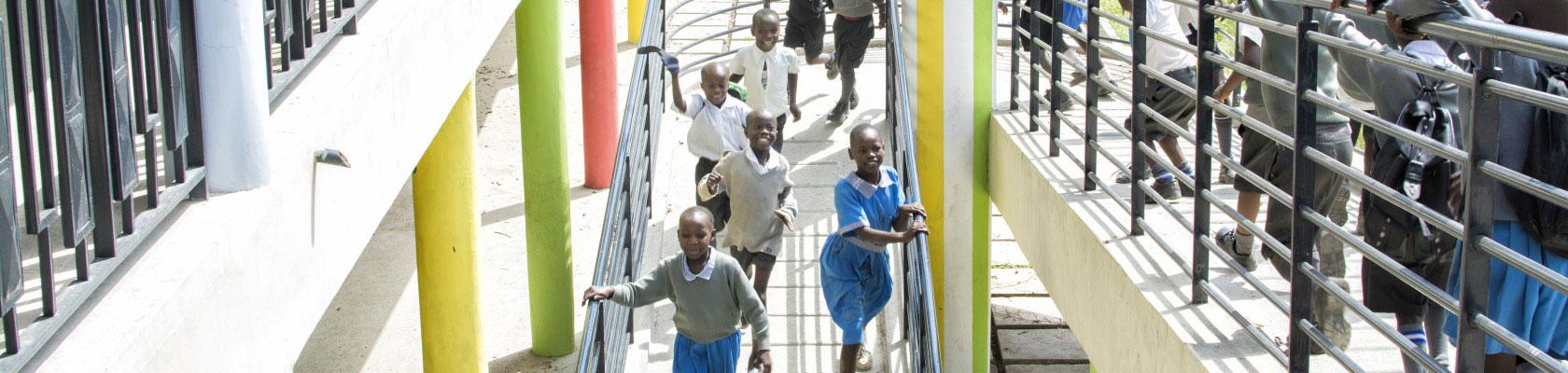 pupils, kids, primary school, Angira, Kenya, education
