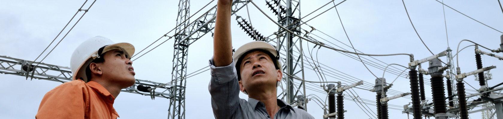 station de transformation, électricité, énergie, Vietnam
