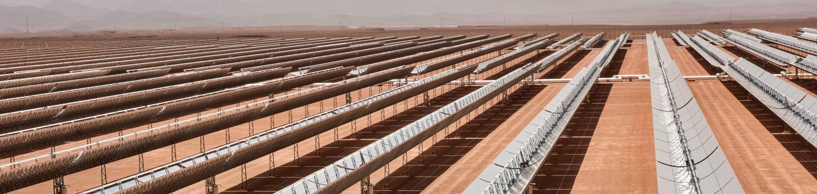 Noor solar plant, Morocco, energy