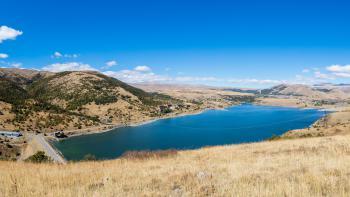 Réservoir de Kechut en Arménie