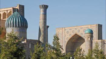 Madrasa Oulough Begh du Registan, Samarcande, Ouzbékistan