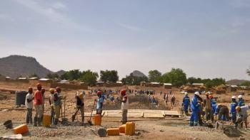 Cameroun, Extrême-Nord, chantier, emploi