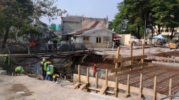 Congo, Brazzaville, drainage eaux de pluie
