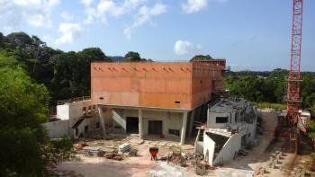 Construction du collège d'Apatou, Guyane, éducation