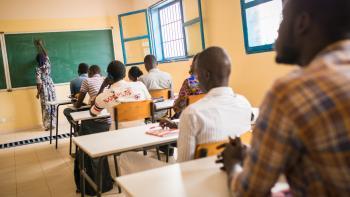 jeunes, formation professionnelle, salle de classe, Sénégal, éducation