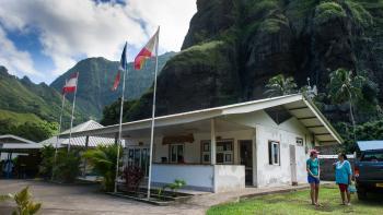 Centrale Hydroélectrique, Fatu Hiva, Polynésie française