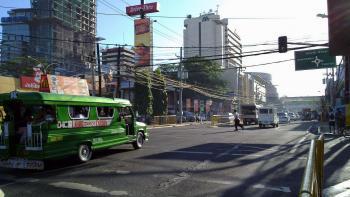 Cebu, rue, Philippines, décentralisation, transports