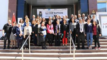 Journées franco-tunisiennes de lutte contre la corruption, France, Tunisie, photo de groupe