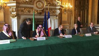 signature AFD Fonds saoudien développement Arabie saoudite